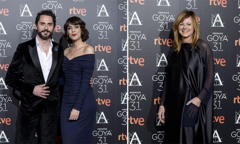 Paco León, Emma Suárez, Ricardo Gómez... los nominados a los Goya templan los nervios en una cena con sus rivales