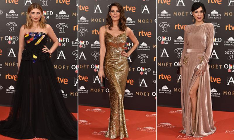 Las estrellas del cine español brillan en la alfombra roja de los Goya