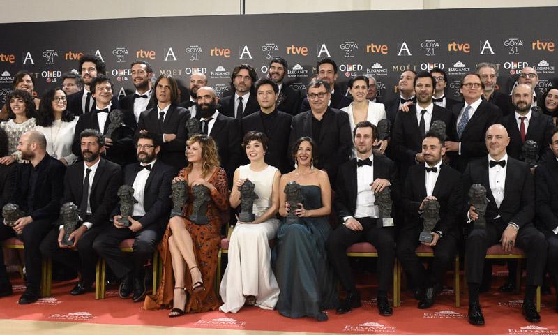 Y la noche de los Goya fue para... Emma Suárez, Raúl Arévalo y Juan Antonio Bayona