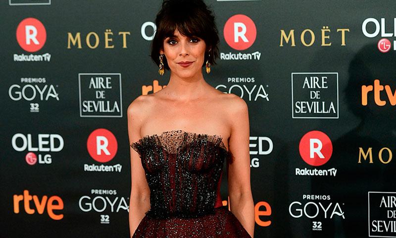 'La llamada' que decidió el estilismo 'made in Spain' de Belén Cuestaen los Premios Goya