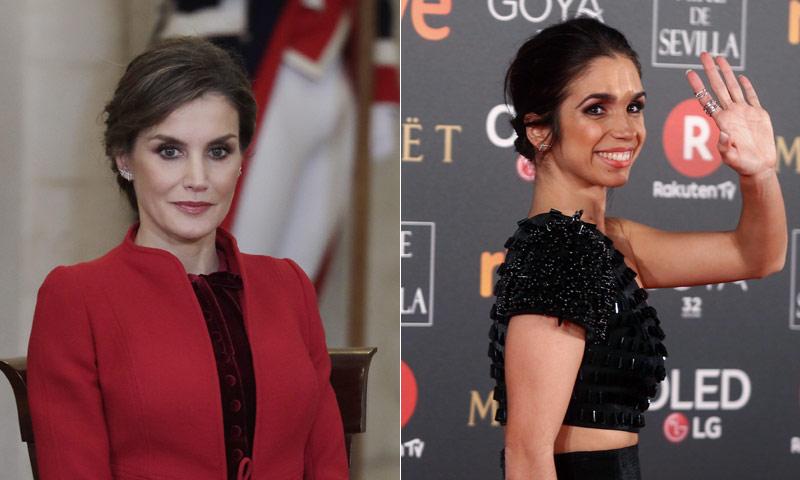 Tres veces en las que las actrices convirtieron a doña Letizia en icono de estilo