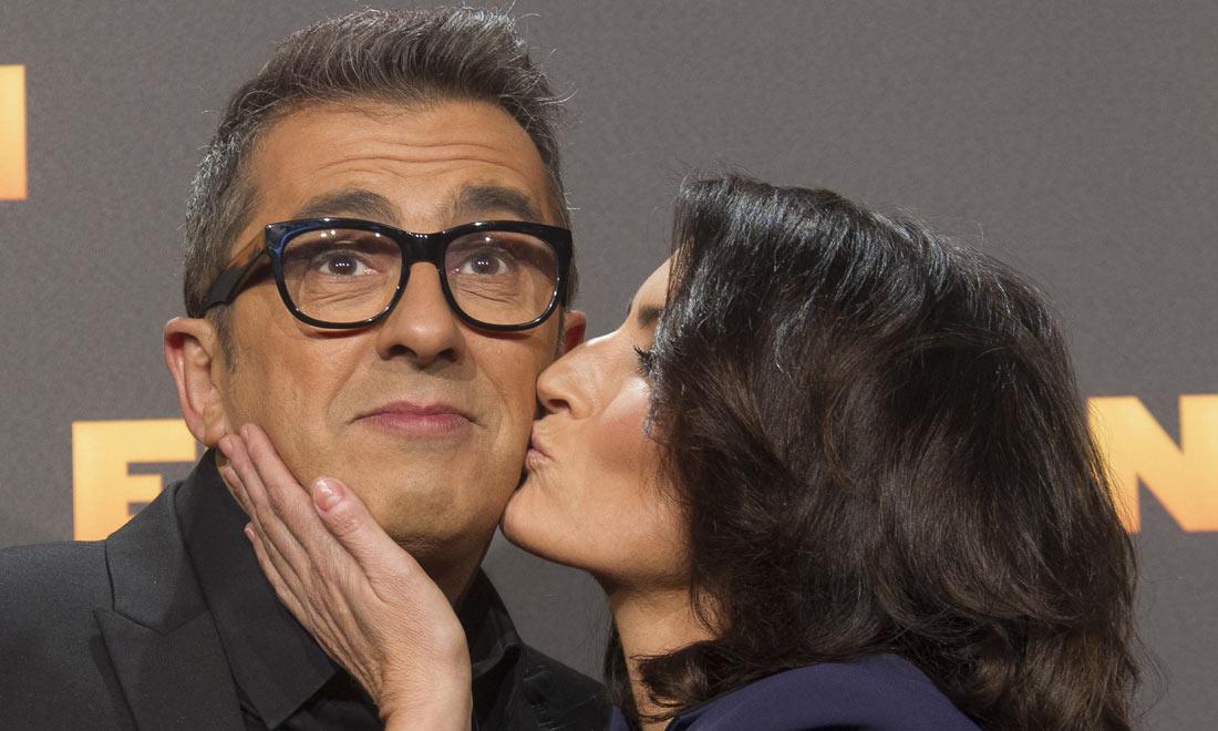 Silvia Abril y Andreu Buenafuente, un matrimonio bien avenido dentro y fuera de la pantalla