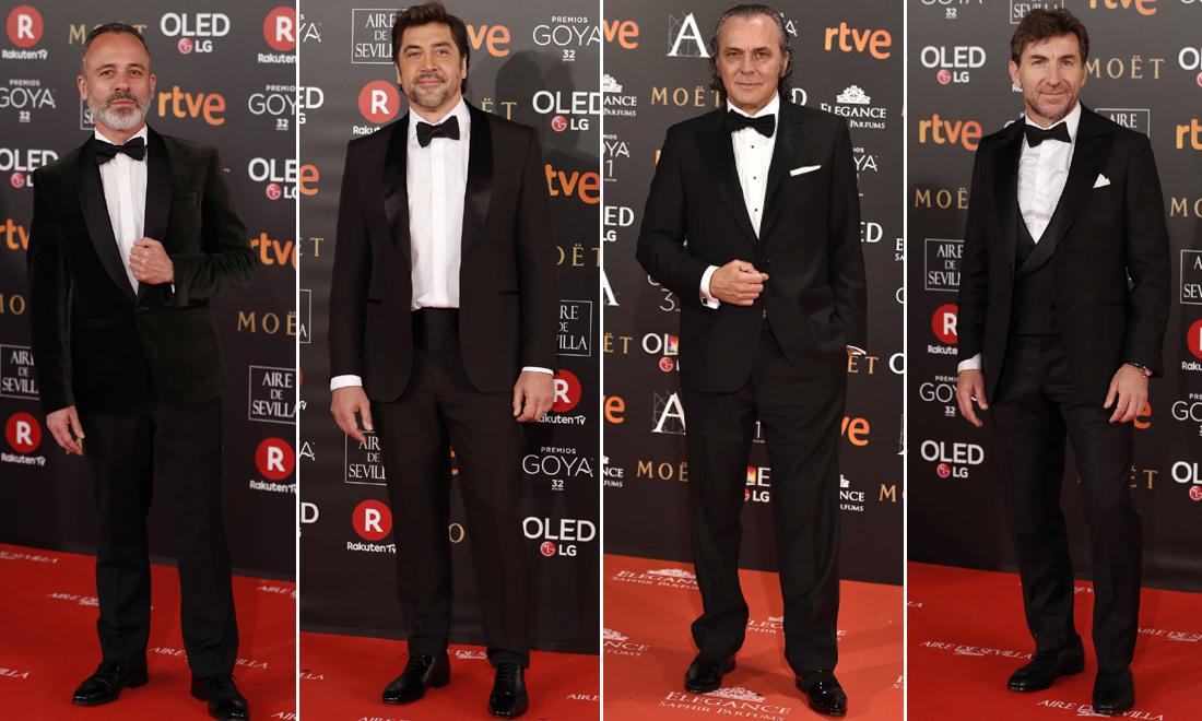 Los nominados por su papel protagonista, 'pesos pesados' de los Goya
