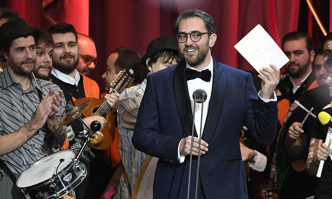 Máximo Huerta, en su regreso a la vida pública: 'No se preocupen que ya saben que yo soy breve'