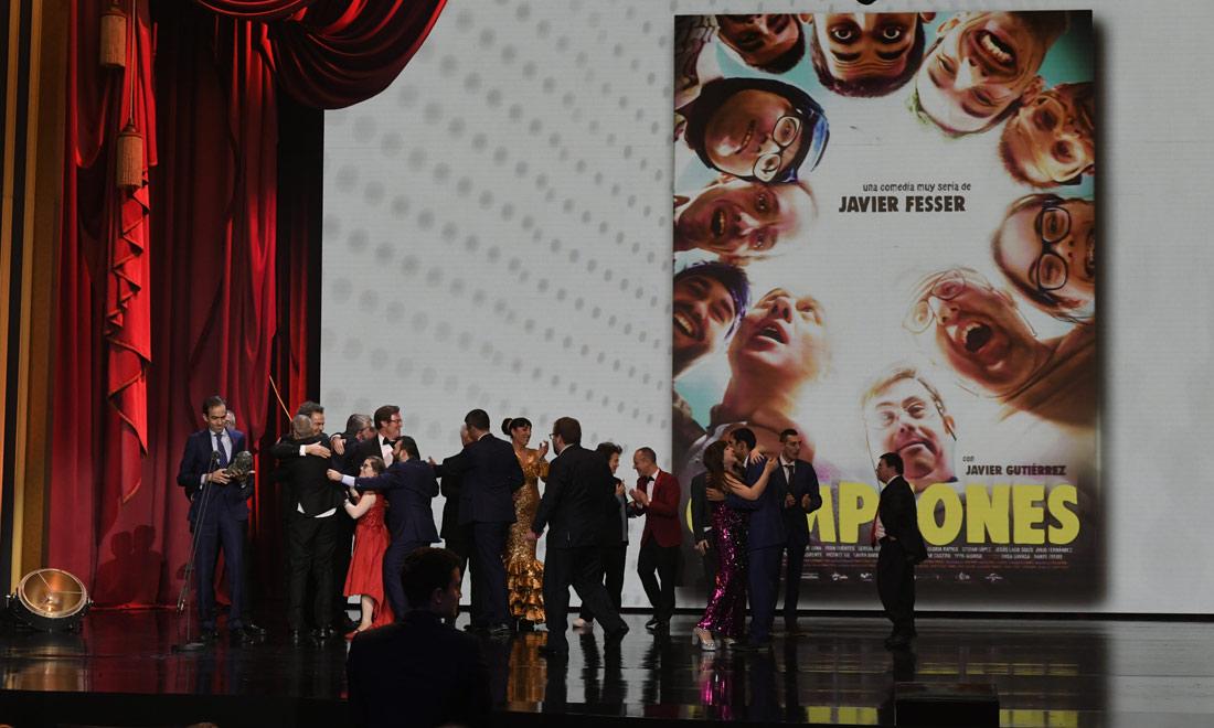 De los nervios a la emoción de los ganadores: así fue la gran noche del cine español
