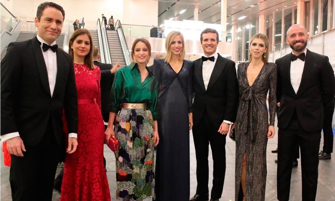 Las 'primeras damas' del Partido Popular se estrenan en la alfombra roja de los Premios Goya