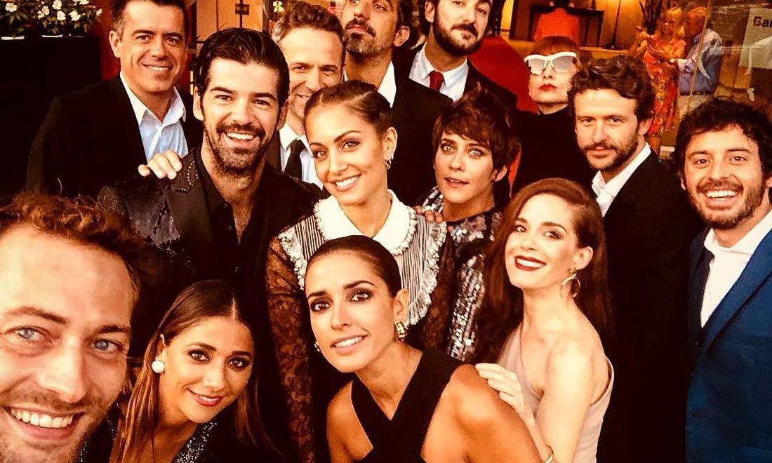 Miguel Ángel Muñoz versiona 'a la española' el famoso 'selfie' de los Oscar