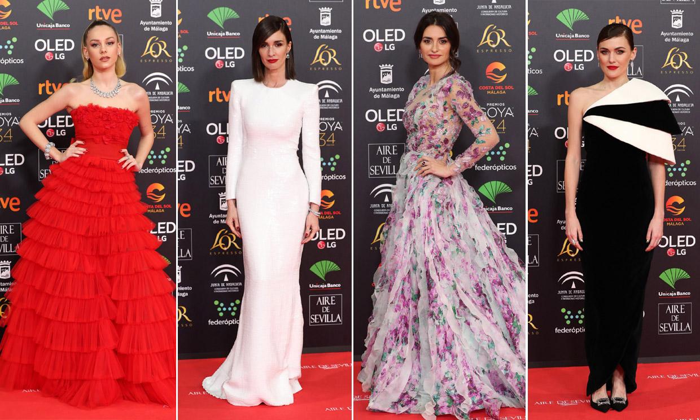 Votación: ¿Cuál ha sido el mejor look de alfombra roja en los Goya 2020?