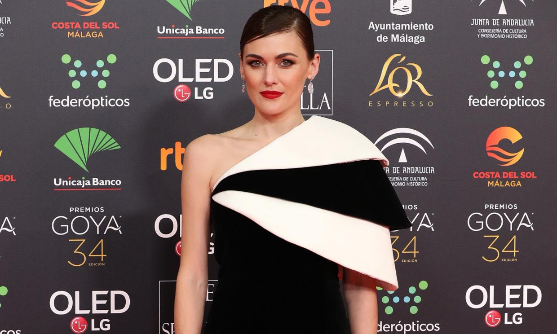 Las mejor vestidas de los Premios Goya 2020, una noche marcada por la elegancia del blanco y negro