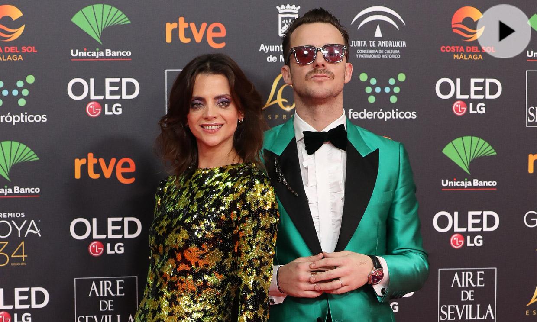 Macarena Gómez, premio a la más atrevida con un look 'efecto serpiente' y las sandalias de la Reina
