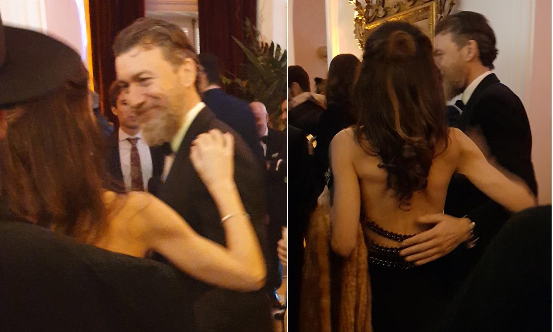 Telma Ortiz y su novio, Robert Gavin Bonnar, la gran sorpresa de los Goya en una noche cargada de presencias inesperadas