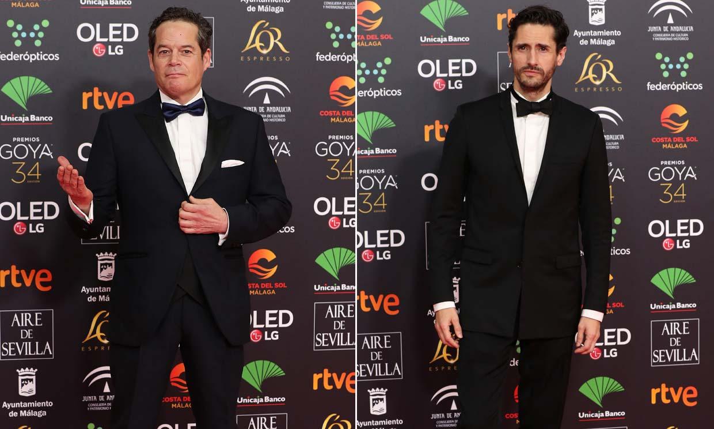 ¿Cómo reaccionan los nominados cuando no ganan? Juan Diego Botto y Jorge Sanz nos lo cuentan con gran sentido del humor