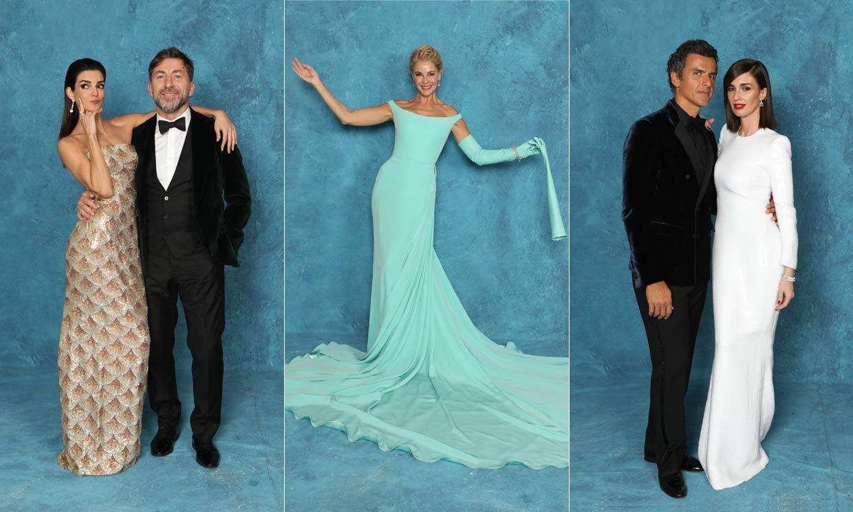 Lo que solo vio ¡HOLA!: 'glamour' y diversión en la sala más exclusiva de los Premios Goya 2020
