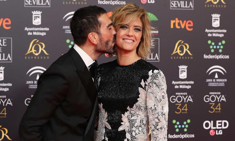 María Casado rinde homenaje a Sara Montiel llevando uno de sus vestidos