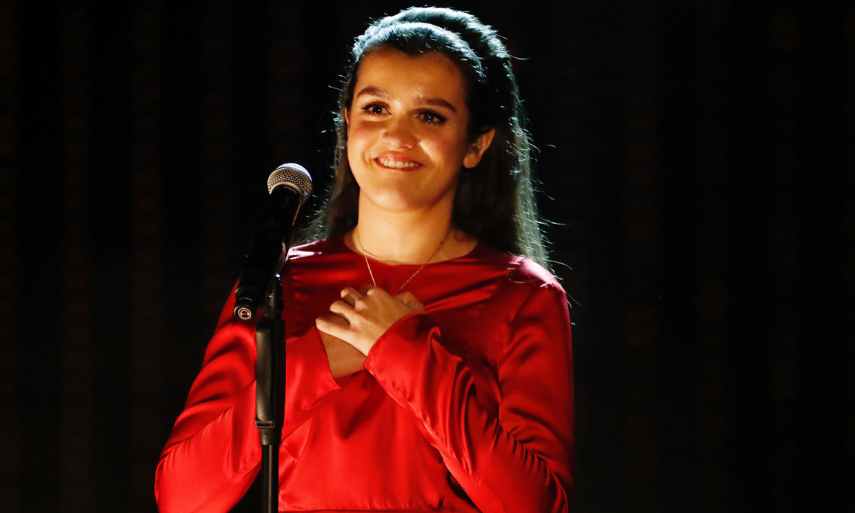 Amaia rememora sus inicios en la música rindiendo homenaje a su ídolo, Pepa Flores