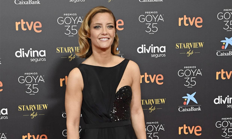 Primicia en ¡HOLA!: Los detalles del vestido exclusivo de María Casado para pisar la alfombra roja