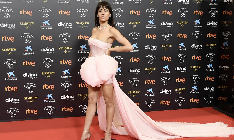 ¡Vuelve la alta costura! Hiba Abouk elige un vestido que 'es un sueño' en los Goya