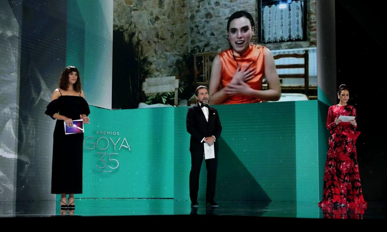 Las imágenes que demuestran que esta gala de los Goya ha sido muy diferente