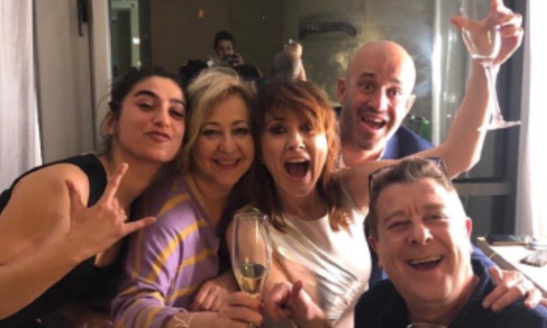 La doble celebración de la premiada Nathalie Poza en la noche de los Goya