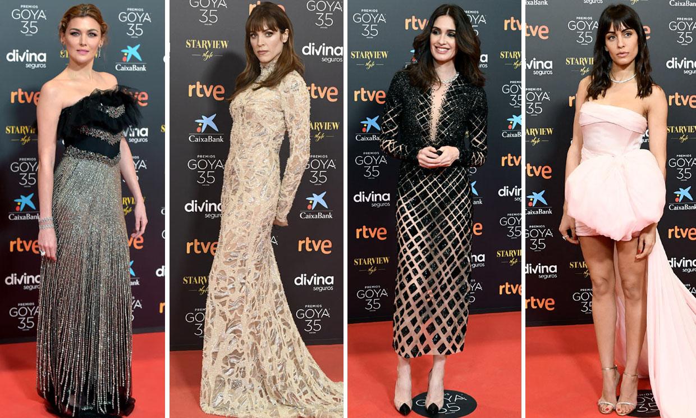 ¿Quién ha sido la invitada mejor vestida de los Goya 2021? Vota a tu favorita