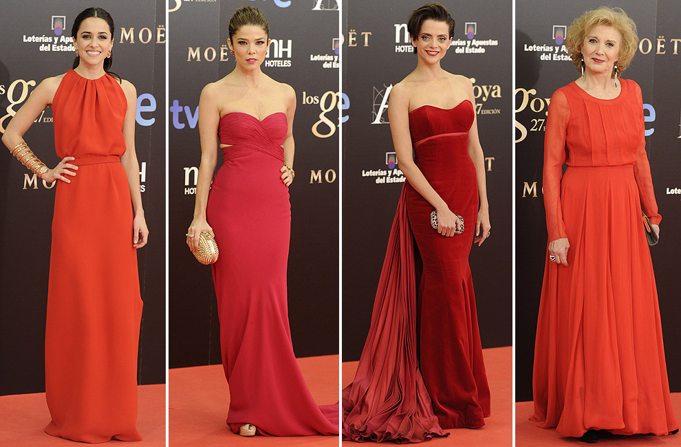 Tendencias Goyas 2013