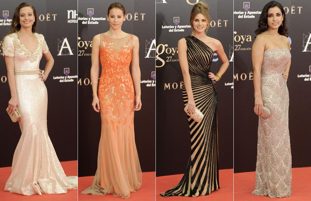 ... Blanca Suárez eclipsan una alfombra roja llena de 'glamour