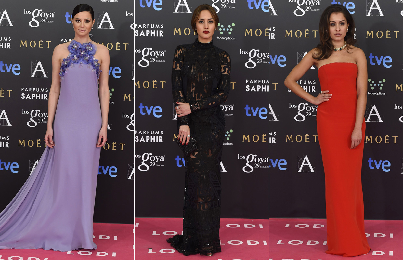 Vestidos fiesta goya 2015