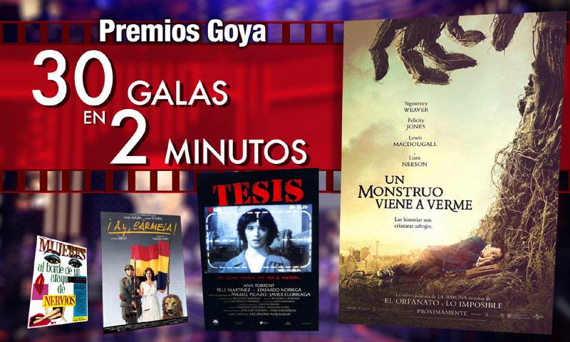 En vídeo: Los Goya, décadas de anécdotas y curiosidades