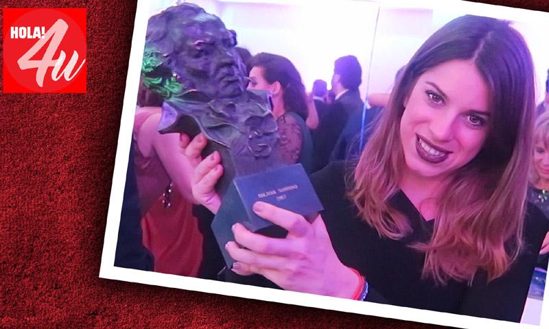 Marta Riumbau te cuenta cómo fue la gala de los Goya desde dentro