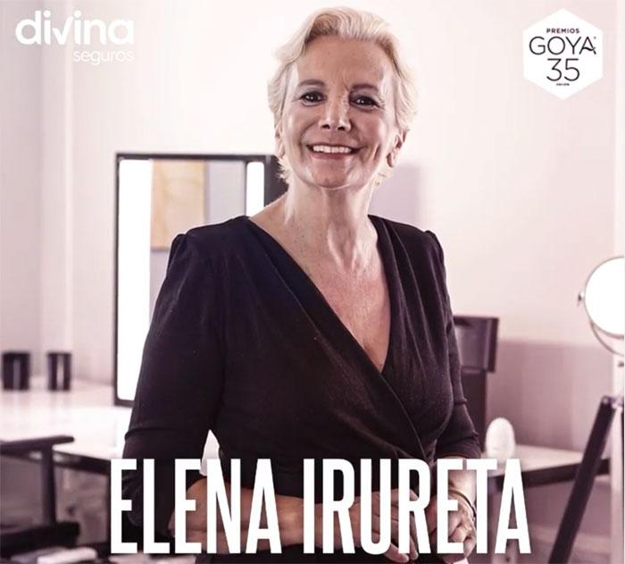 Elena Irureta entregará uno de los premios Goya 2021