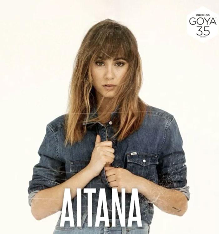 Aitana actuará en la gala de los Goya